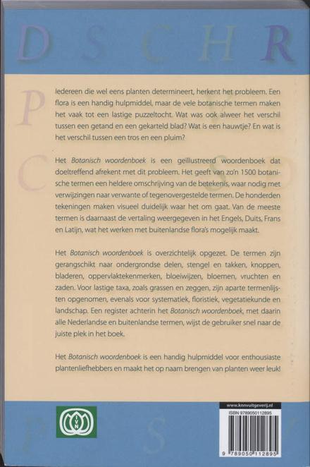 Botanisch woordenboek : verklaring en vertaling van floristische termen