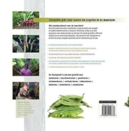 Zaaiagenda : complete gids voor zaaien en oogsten in de moestuin : 90 groentesoorten en 1100 groenterassen
