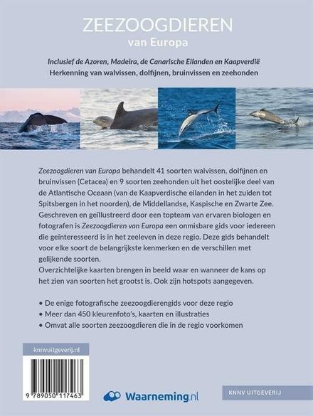Zeezoogdieren van Europa : herkenning van walvissen, dolfijnen, bruinvissen en zeehonden