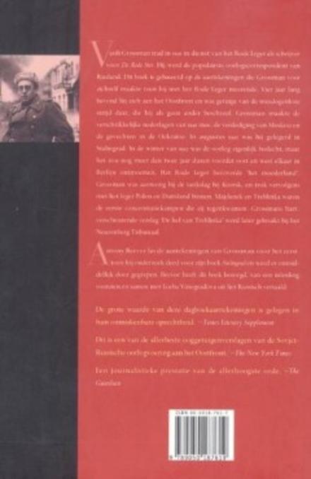 Een schrijver in oorlog : Vasili Grossman en het Rode Leger 1941-1945