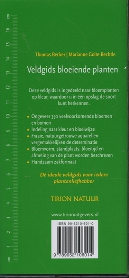 Veldgids bloeiende planten : alle bekende soorten