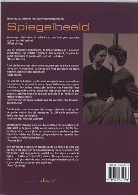 Spiegelbeeld : reflecties bij 25 jaar vrouwengeschiedenis