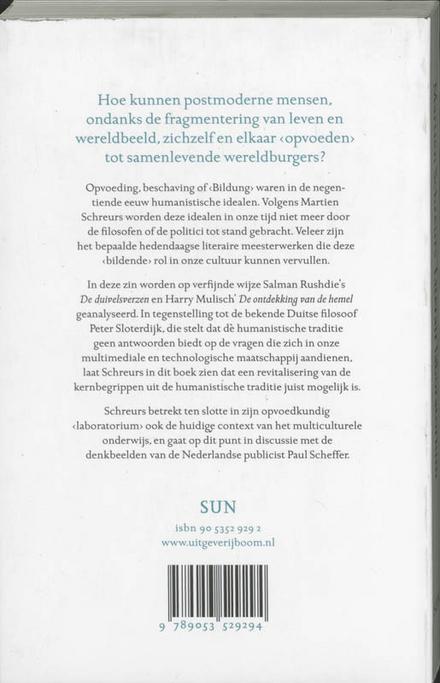 Literair laboratorium : Rushdie en Mulisch als postmoderne opvoeders