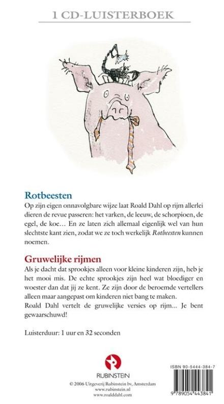 Rotbeesten ; Gruwelijke rijmen