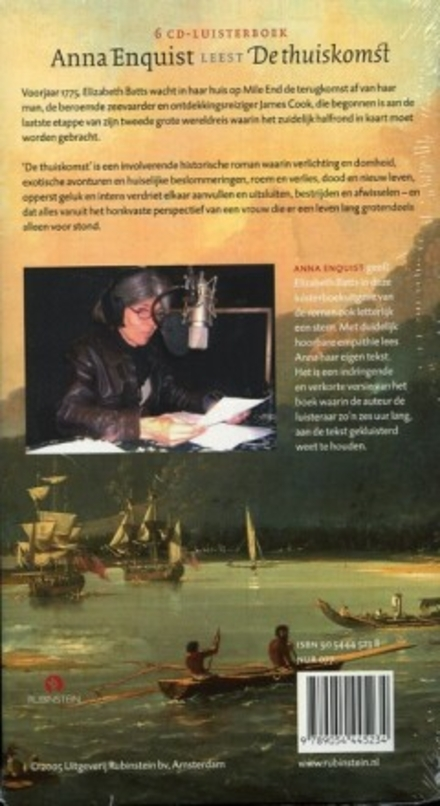Anna Enquist leest De thuiskomst