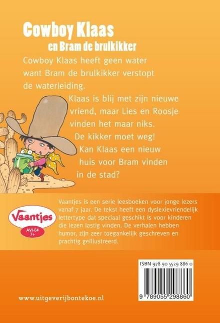 Cowboy Klaas en Bram de brulkikker : meeluisterboek