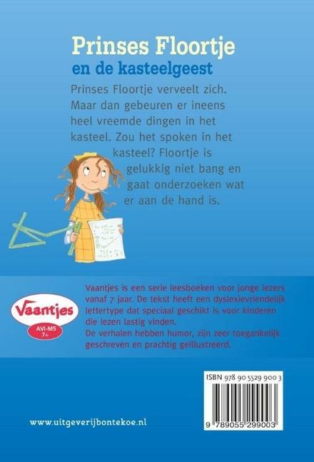 Prinses Floortje en de kasteelgeest : meeluisterboek