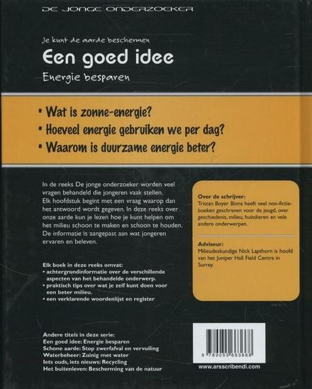 Een goed idee : energie besparen