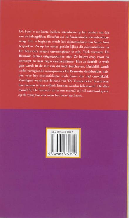 Simone de Beauvoir : een verhaal apart : een kennismaking met haar filosofie