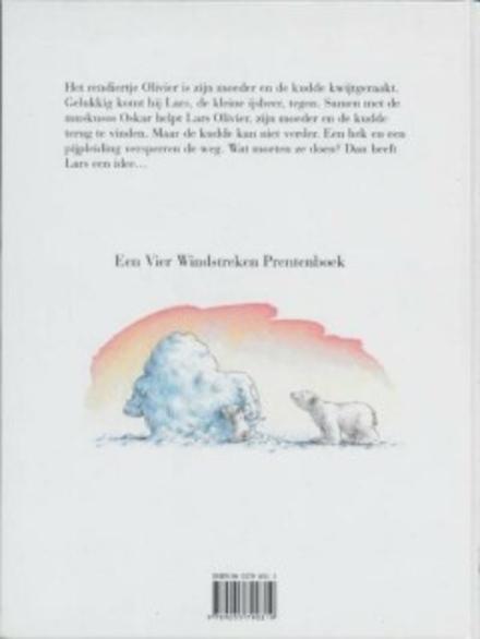 Kleine ijsbeer redt de rendieren
