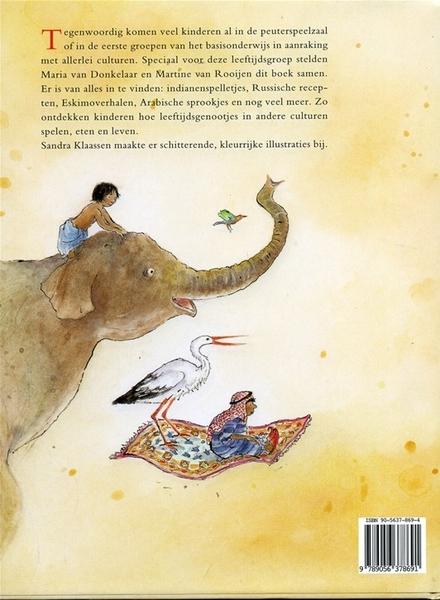 De hele wereld rond : lezen, spelen en knutselen met jonge kinderen