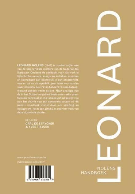Leonard Nolens handboek