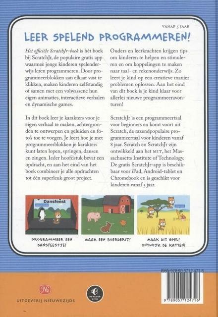 Het officiële Scratchjr boek : help je kinderen leren programmeren!