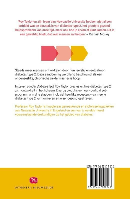 Leven zonder diabetes : de definitieve gids voor het begrijpen en omkeren van diabetes type 2