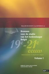 Bronnen voor de studie van het hedendaagse België 19e-21e eeuw