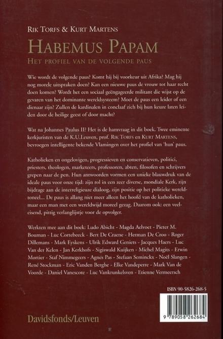 Habemus papam : het profiel van de volgende paus