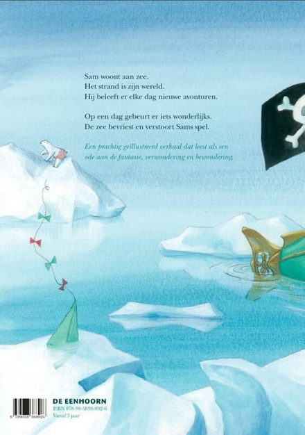 De bevroren zee
