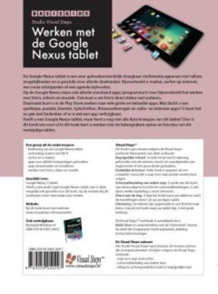 Basisgids werken met de Google Nexus tablet