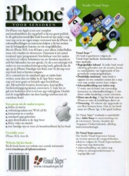 iPhone voor senioren : snel aan de slag met de gebruiksvriendelijke iPhone