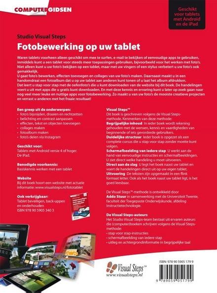 Fotobewerking op uw tablet