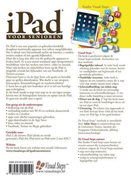 iPad voor senioren : snel aan de slag met een iPad met iOS 7