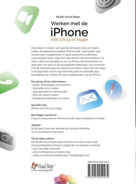 Werken met de iPhone met iOS 14 en hoger