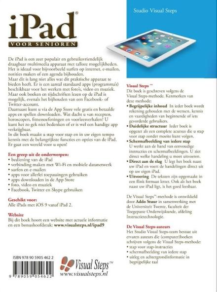 iPad voor senioren met iOS 9 : snel aan de slag met een iPad