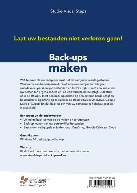 Back-ups maken : laat uw bestanden niet verloren gaan!