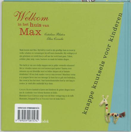 Welkom in het huis van Max : knappe knutsels voor kinderen