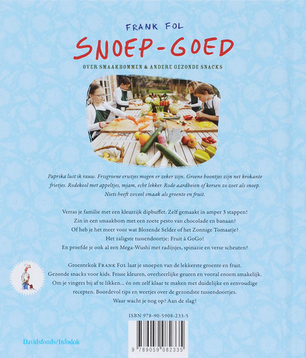 Snoep-goed : over smaakbommen & andere gezonde snacks