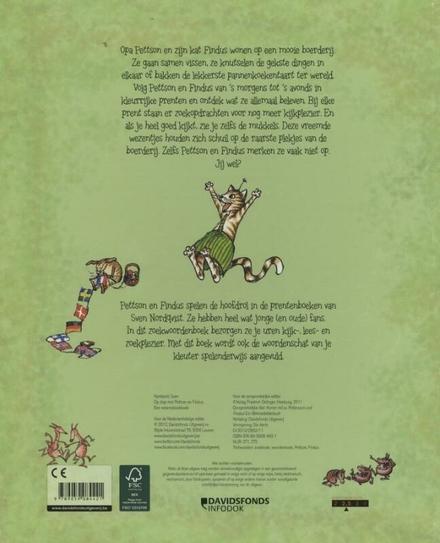 Op stap met Pettson en Findus! : een wriemelzoekboek
