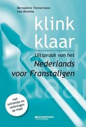 Klink klaar : uitspraak van het Nederlands voor Franstaligen