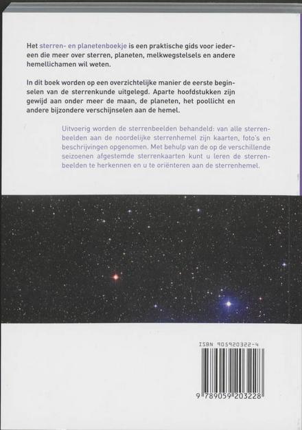 Het sterren- en planetenboekje : met posities tot en met 2009