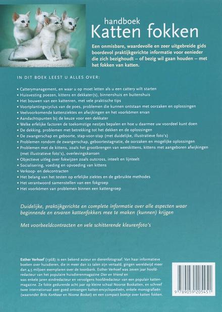 Handboek katten fokken : praktijkgerichte informatie over alle aspecten waar kattenfokkers mee te maken kunnen krij...