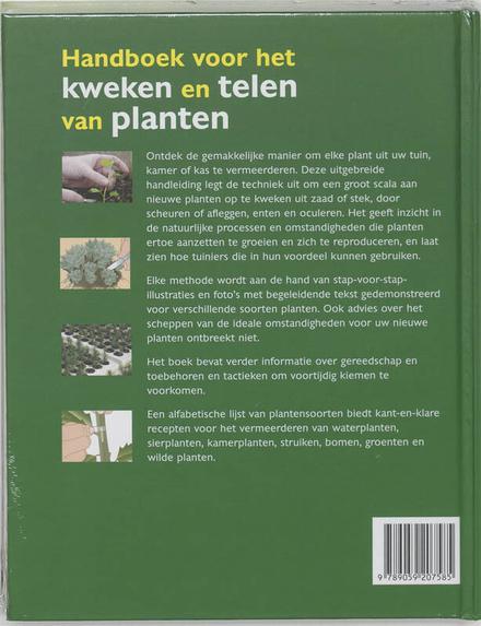 Handboek voor het kweken en telen van planten