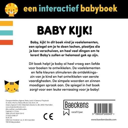 Baby kijk! : een interactief babyboek