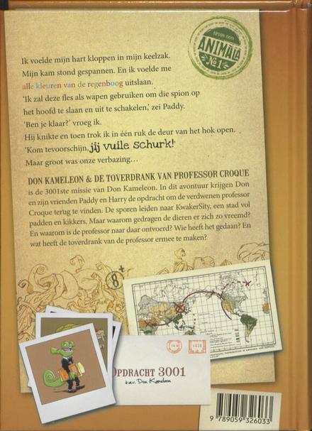 Don Kameleon en de toverdrank van Professor Croque