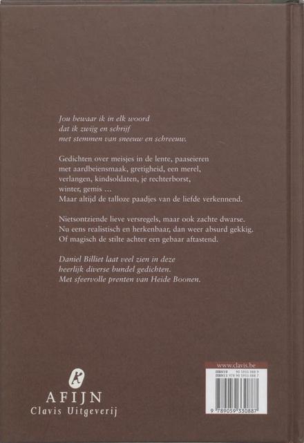 Wat van de liefde niet gezegd kan worden : gedichten 2002-2004