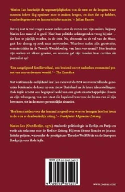 Rode liefde : een Oost-Duitse familiegeschiedenis