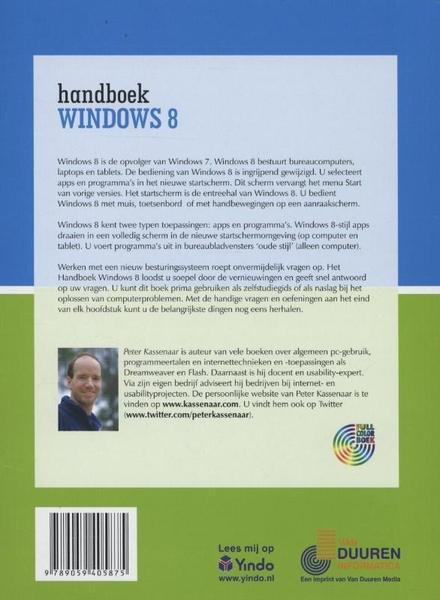 Handboek Windows 8