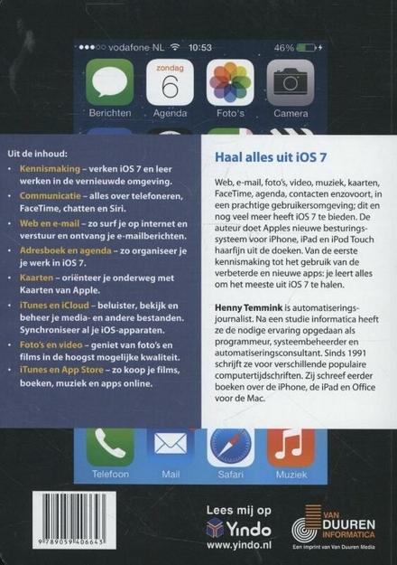 Ontdek iOS 7 : voor iPhone & iPad