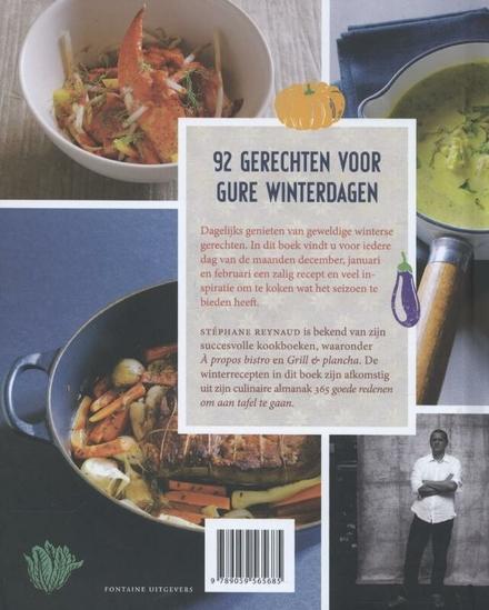 De winter op tafel : seizoensgerechten uit de fameuze culinaire almanak 365