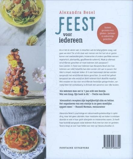 Feest voor iedereen : samen genieten van gluten-, lactose- en suikervrije gerechten