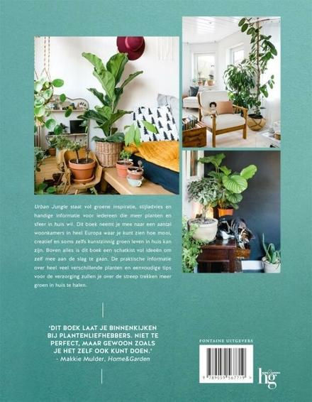 Urban jungle : inspiratie voor een huis vol groen