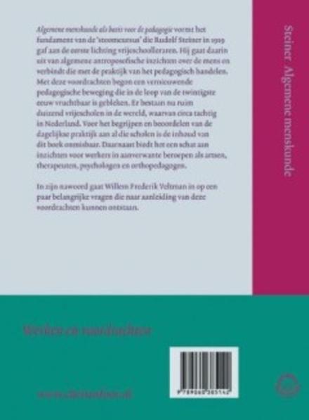 Algemene menskunde als basis voor de pedagogie