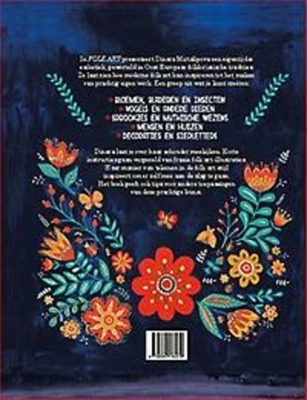 Folk Art : inspiratie en ideeën voor het maken van designs en tekeningen