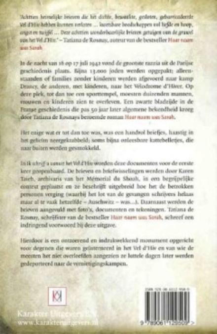 Ik schrijf u vanuit het Vel d'Hiv : de teruggevonden briefjes van geïnterneerde joden in het Vélodrome d'Hiver van ...