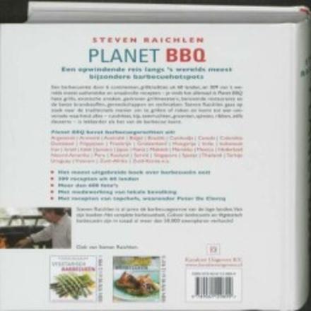 Planet BBQ : 60 landen, 309 recepten, 600 foto's