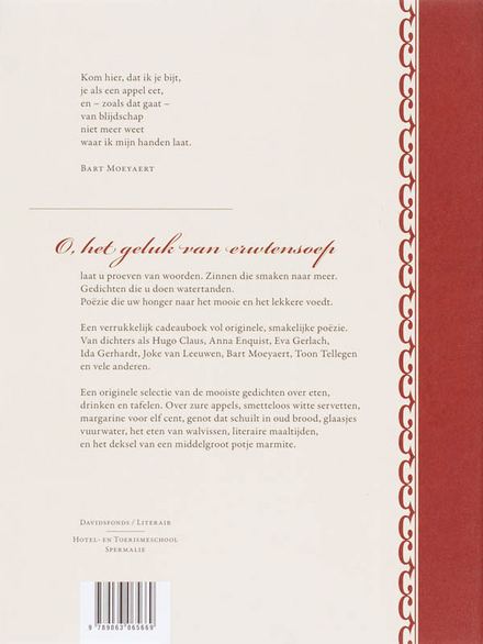 O, het geluk van erwtensoep : de lekkerste gedichten
