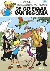 De ooievaar van Begonia